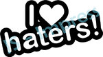 I ♥ Haters