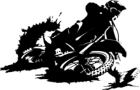 Motocross/Bike Sticker